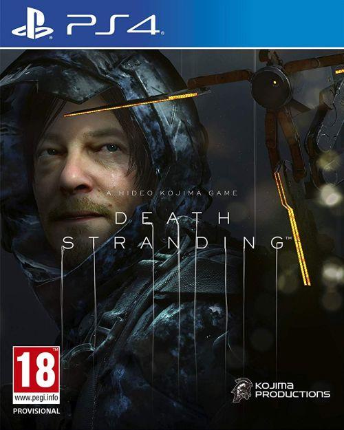 Death Stranding (PS4) PL + nakładki na Dualshock 4