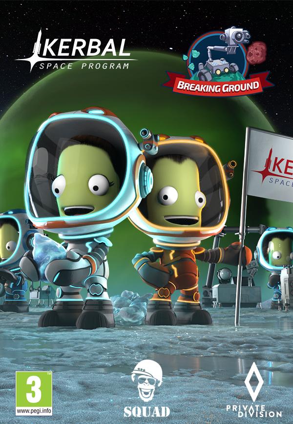 Kerbal Space Program: Breaking Ground (PC) Klucz Steam