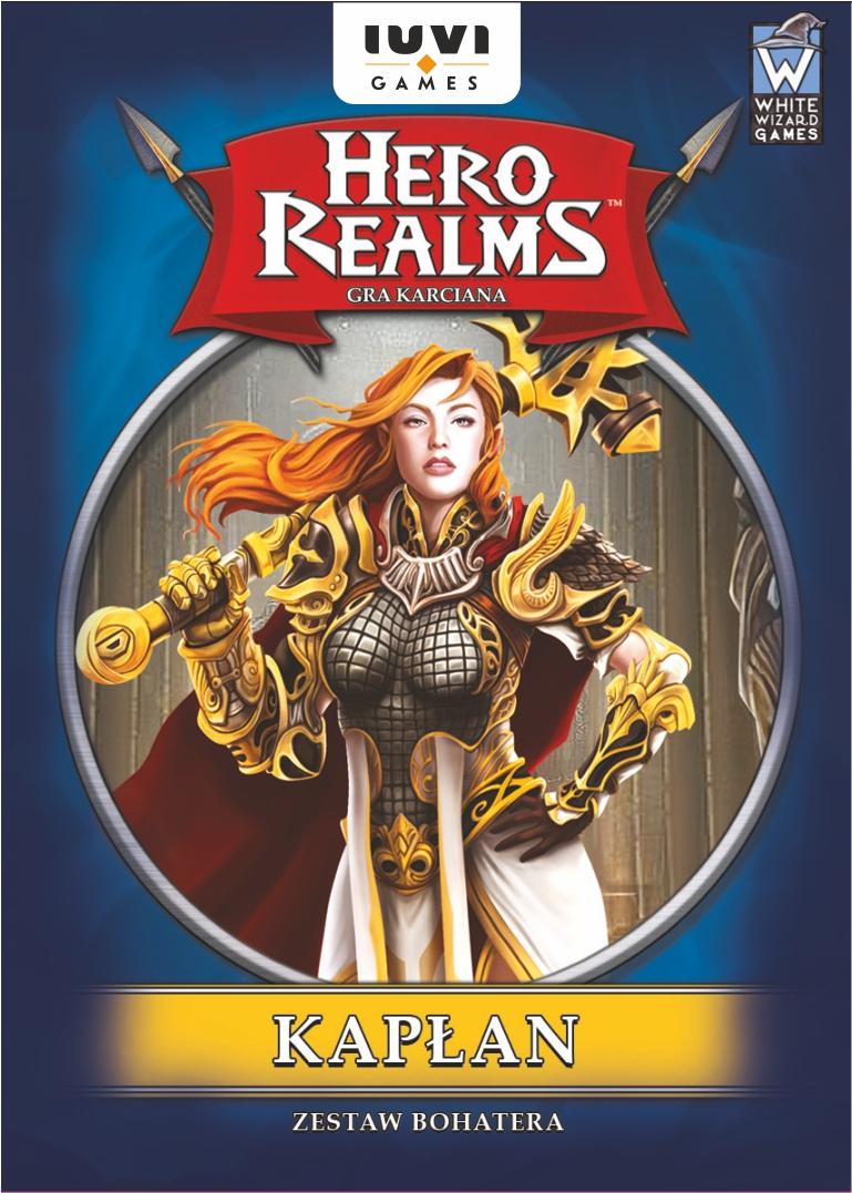 Hero Realms: Zestaw Bohatera: Kapłan (Gra Karciana)