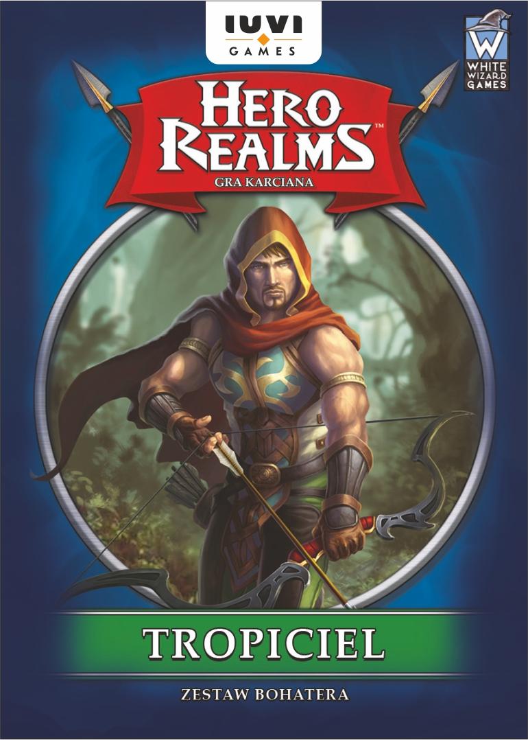 Hero Realms: Zestaw Bohatera: Tropiciel (Gra Karciana)
