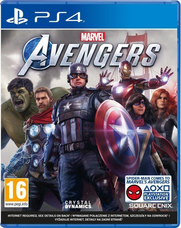 MARVEL'S AVENGERS (PS4) PL + Bonus