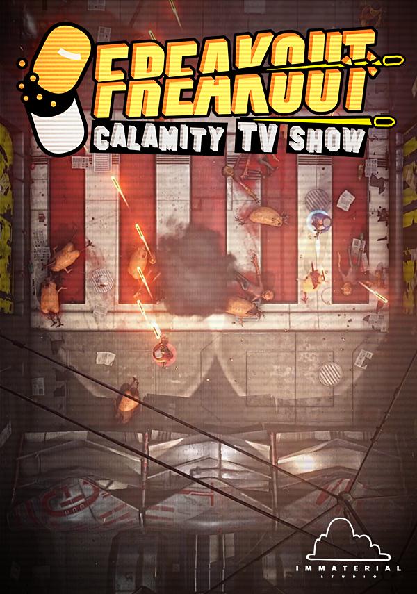 Freakout: Calamity TV Show (PC) Klucz Steam