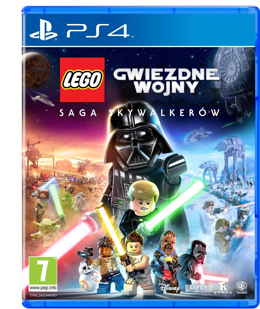 Lego Gwiezdne Wojny: Saga Skywalkerów (PS4) Polski Dubbing!