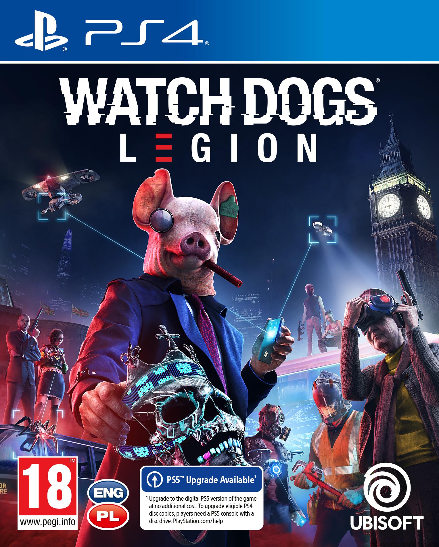 Watch Dogs: Legion (PS4) + BONUS!
