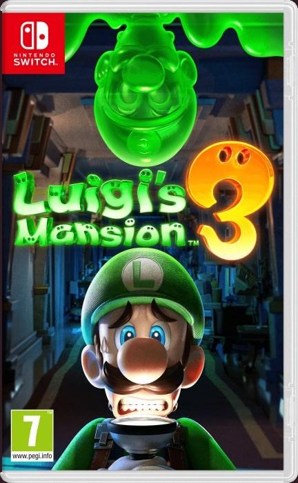 Luigi's Mansion 3 (Switch) + Naklejki + Brelok