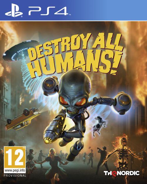 Destroy All Humans (PS4) PL