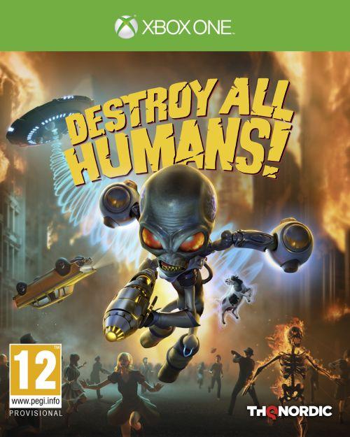 Destroy All Humans (XOne) PL