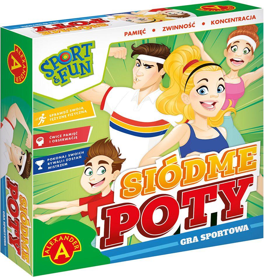 Sport & Fun: Siódme poty (Gra planszowa)