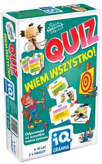 IQ Granna: Quiz - wiem wszystko