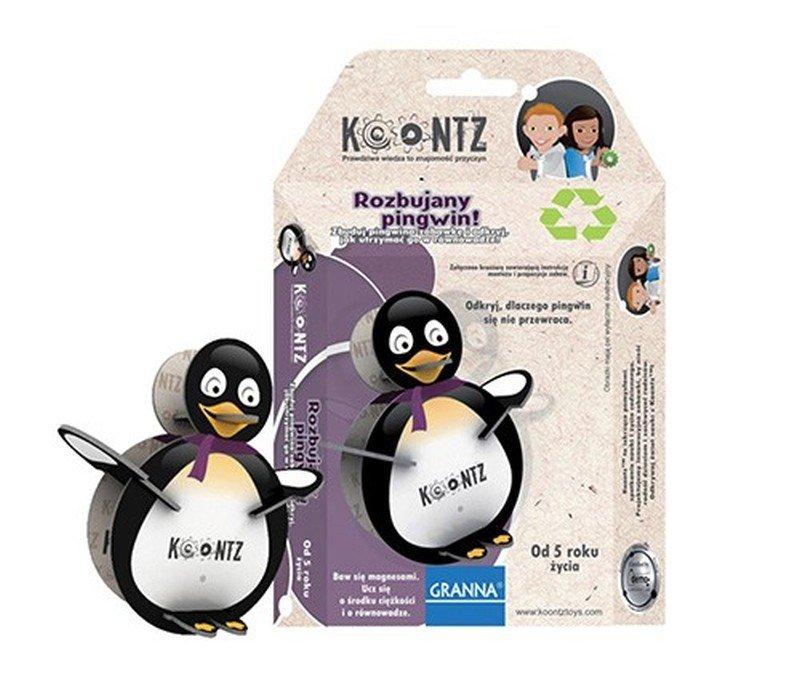 Rozbujany pingwin
