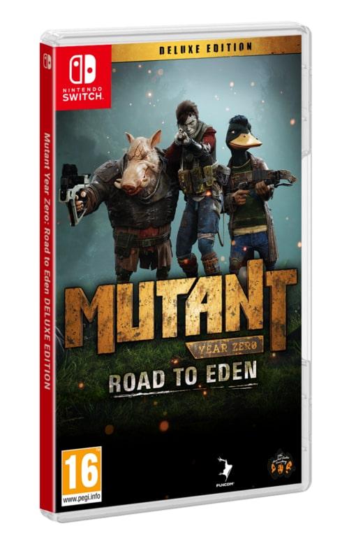 Mutant Year Zero: Road to Eden Edycja Deluxe (Switch)