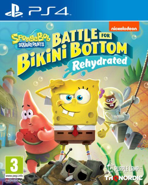 Spongebob SquarePants: Battle for Bikini Bottom – Rehydrated (PS4) PL