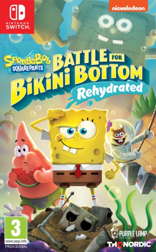 Spongebob SquarePants: Battle for Bikini Bottom – Rehydrated (Switch) PL
