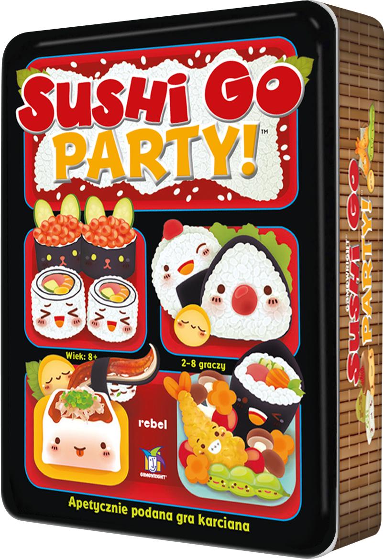 Sushi Go Party! (edycja polska) (Gra Karciana)