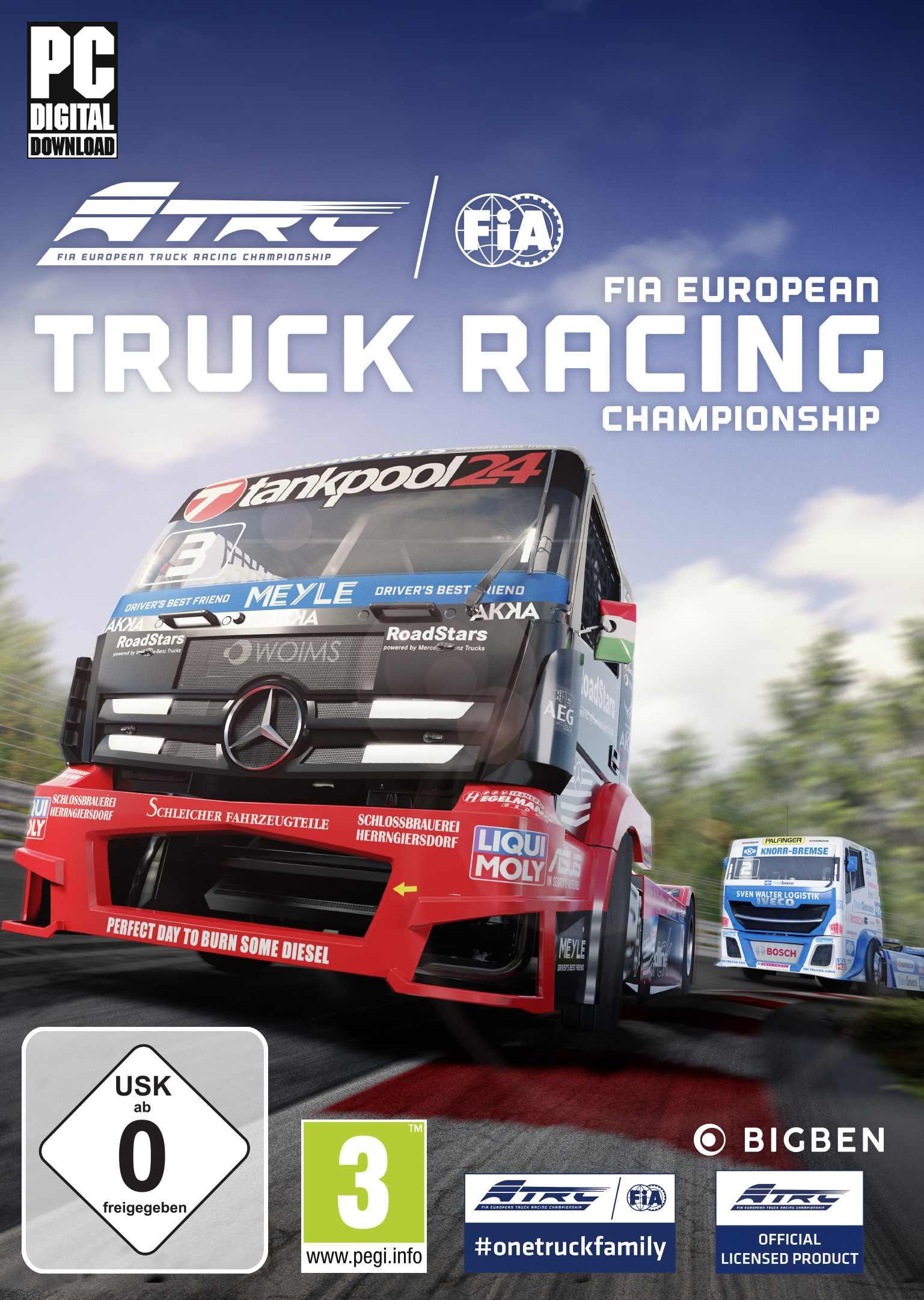 FIA European Truck Racing Championship (PC) DIGITÁLIS (Steam kulcs)