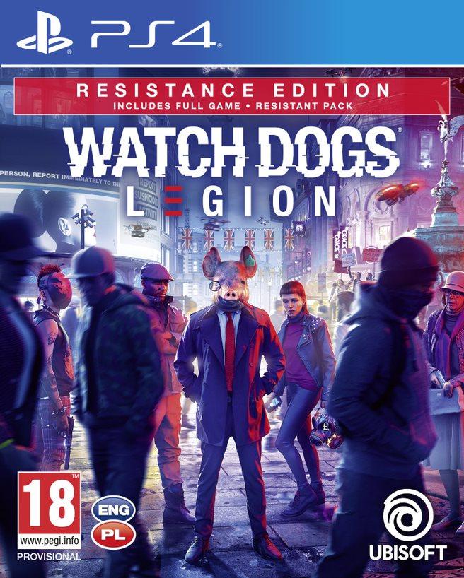 Watch Dogs: Legion Resistance Edition (PS4) + BONUS!