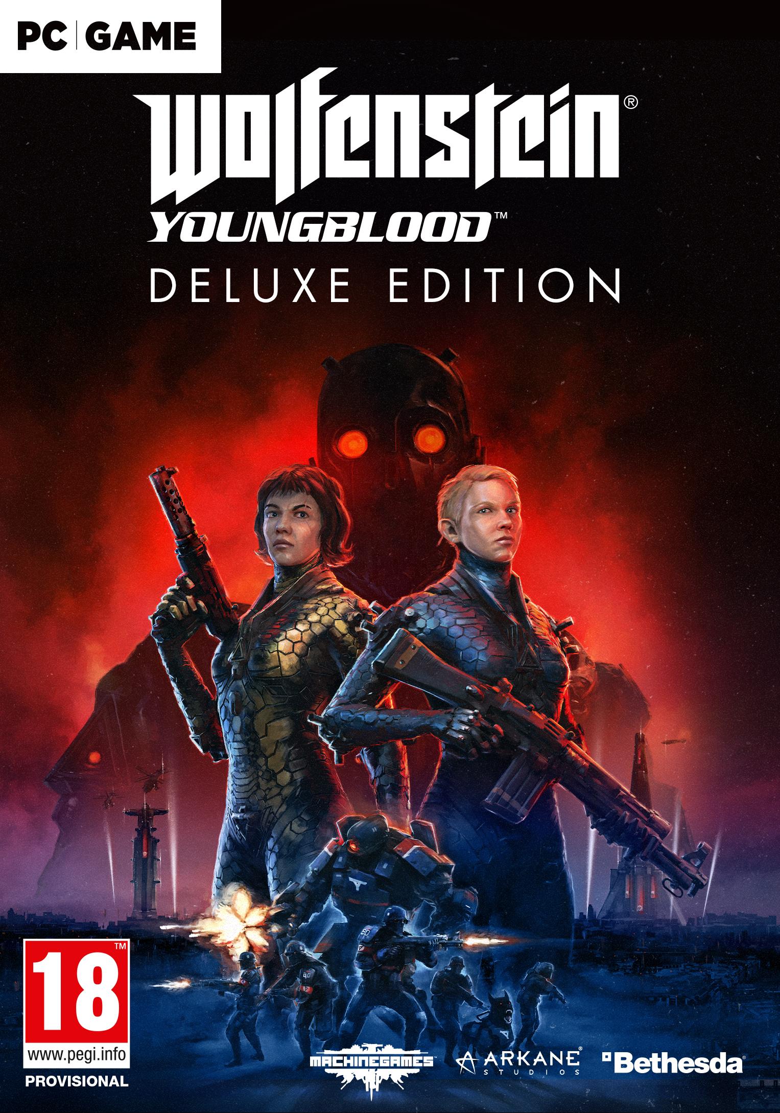 Wolfenstein Youngblood Edycja Deluxe (PC) klucz Bethesda.net