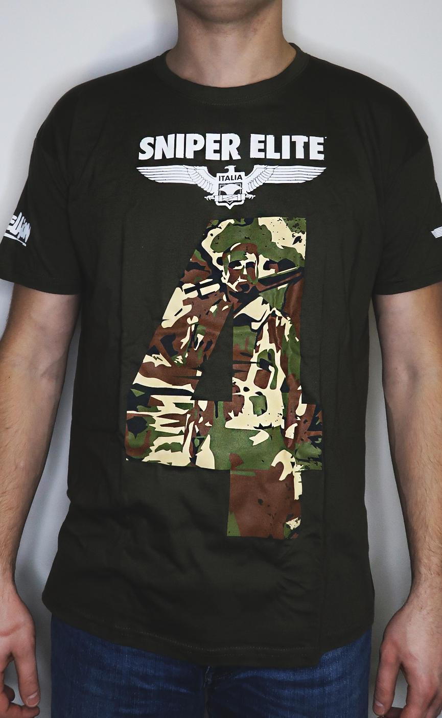 Koszulka z gry Sniper Elite 4 rozmiar L