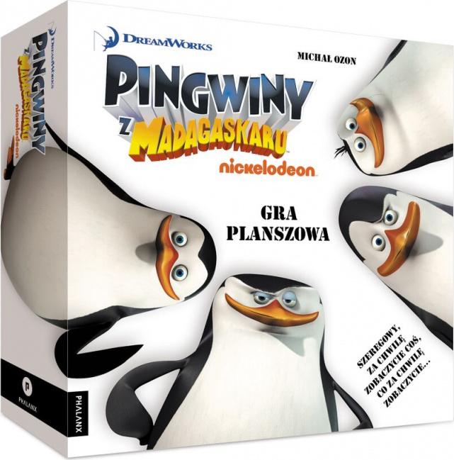 Pingwiny z Madagaskaru (Gra Planszowa)