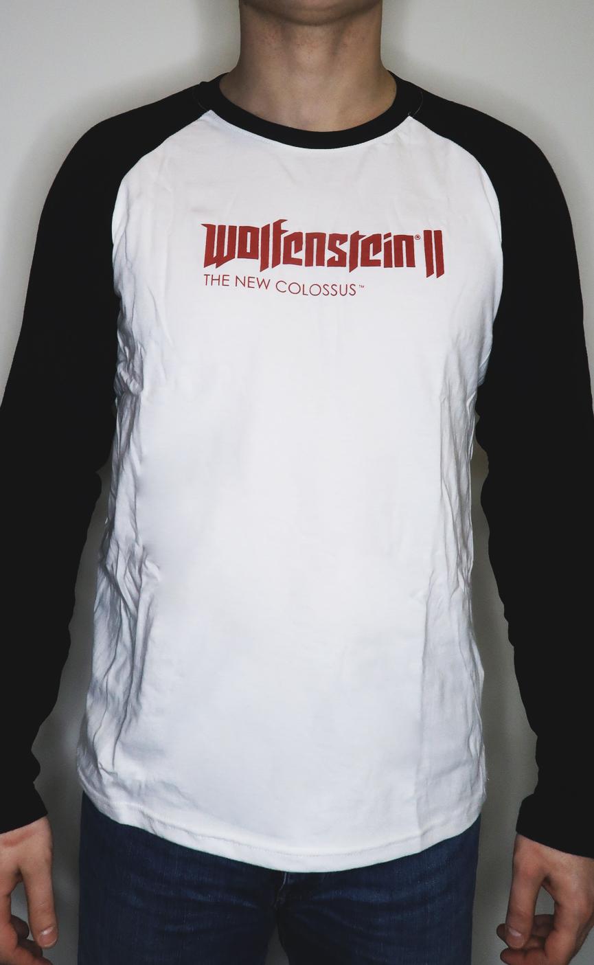 Wolfenstein II koszulka z długim rękawem rozmiar L