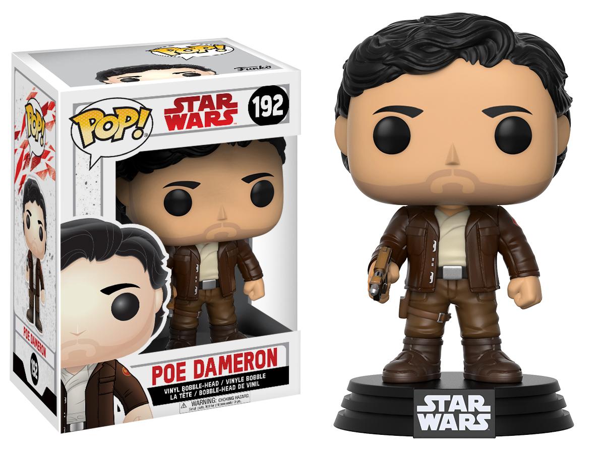 Funko POP Star Wars Bobble: E8 - Poe Dameron