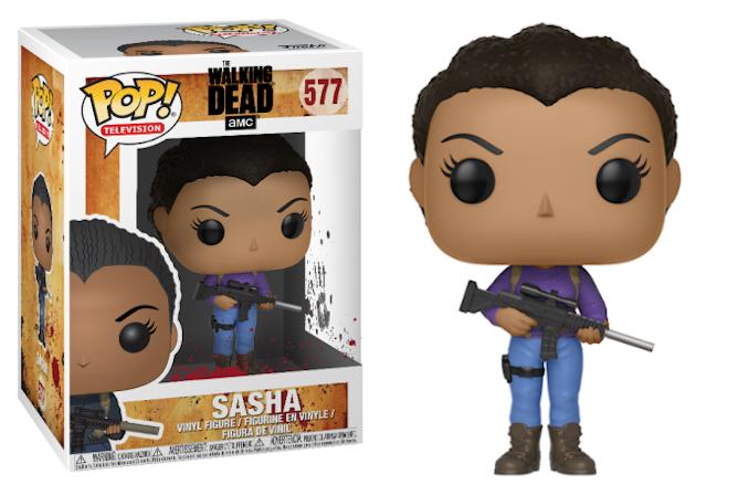 Funko POP TV: The Walking Dead - Sasha