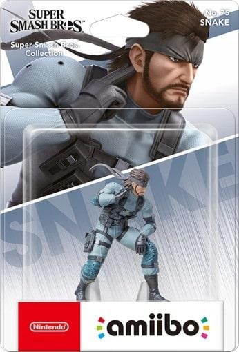 Figurka amiibo Smash Snake 75 (WiiU/3DS/Switch)