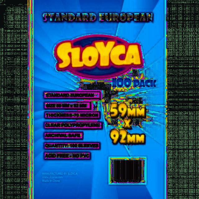 Koszulki Standard European 59x92mm (100szt) SLOYCA (akcesoria)