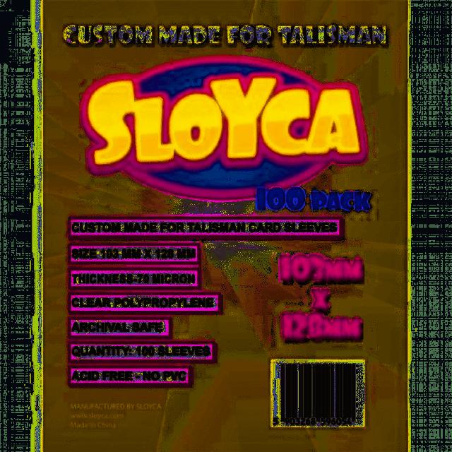 Koszulki Talisman 103x128mm (100szt) SLOYCA (akcesoria)
