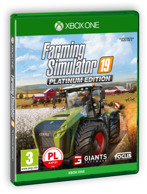 Farming Simulator 19 Edycja Platynowa (XOne) PL