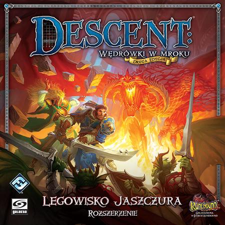 Descent: Legowisko Jaszczura (Gra planszowa)