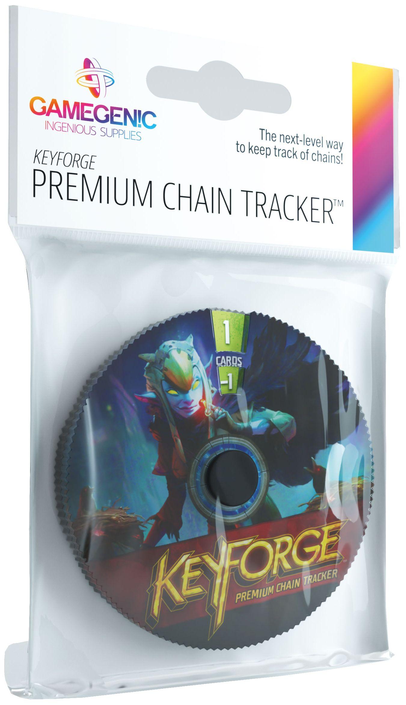 Gamegenic: KeyForge - Premium Shadows Chain Tracker (akcesoria)