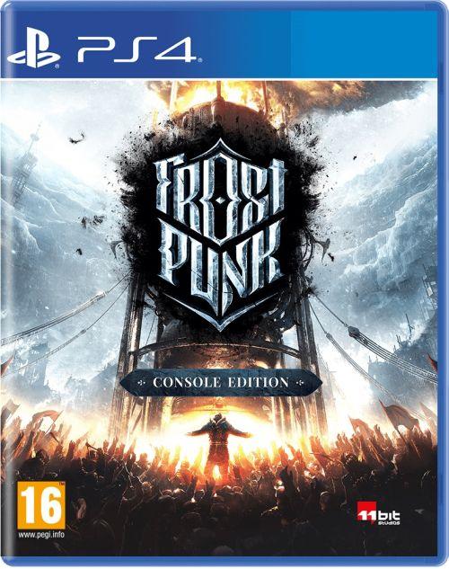 Frostpunk (PS4) PL + Kolekcjonerska przypinka + Kolekcjonerska przypinka