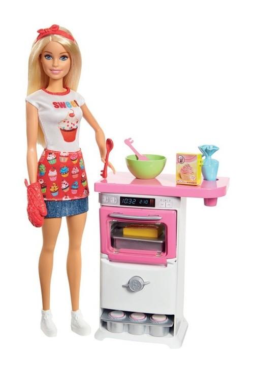 Barbie Domowe wypieki + lalka