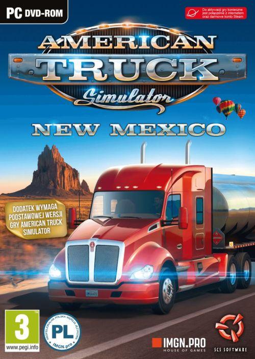 American Truck Simulator New Mexico (PC) PL