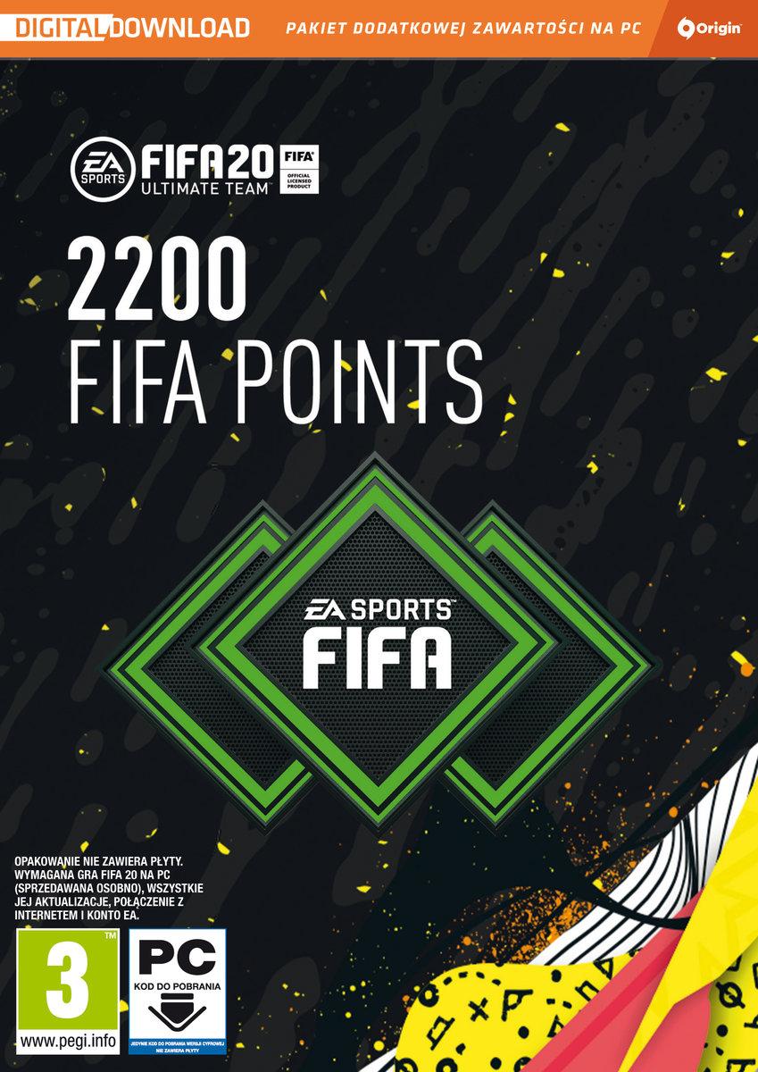 FIFA 20 - Points (PC) DIGITAL 2200 punktów