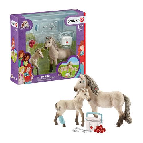 Islandzki koń i apteczka - Schleich