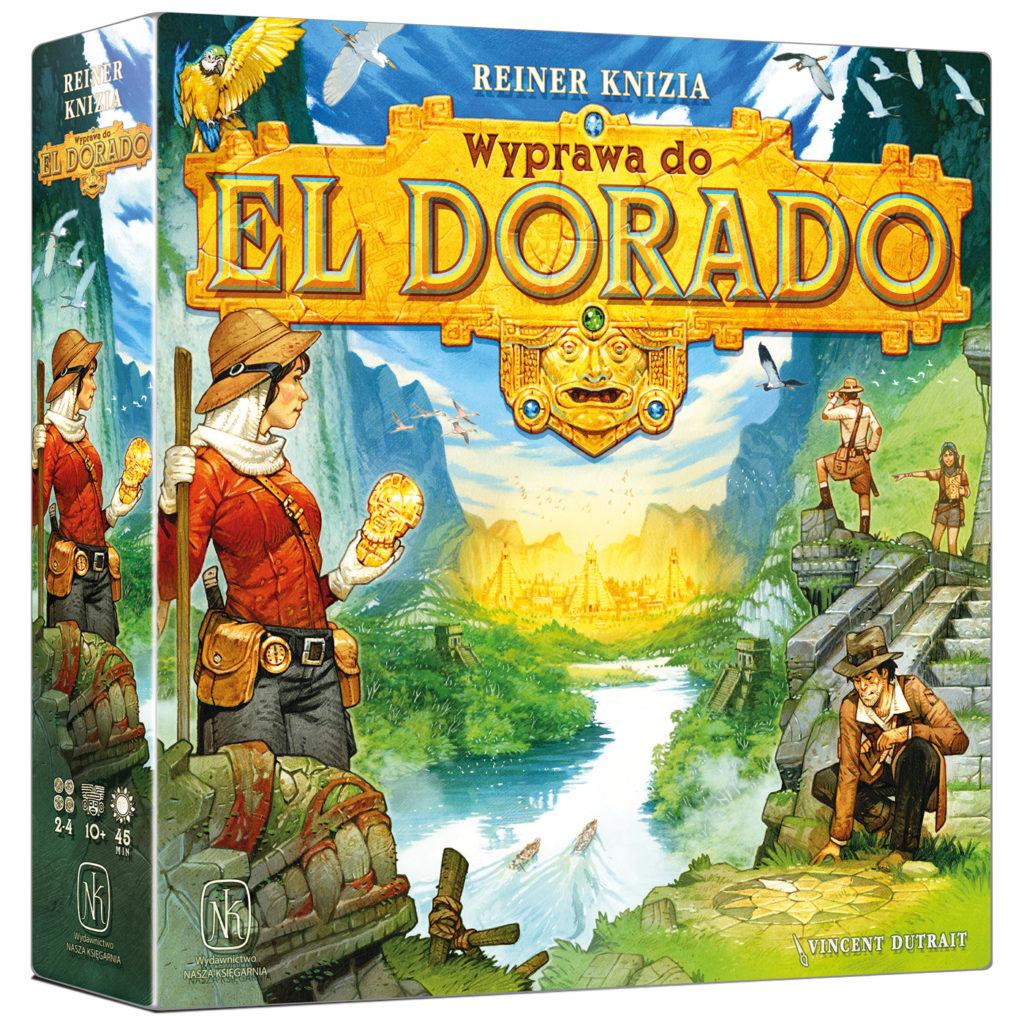 Wyprawa do El Dorado - gra planszowa
