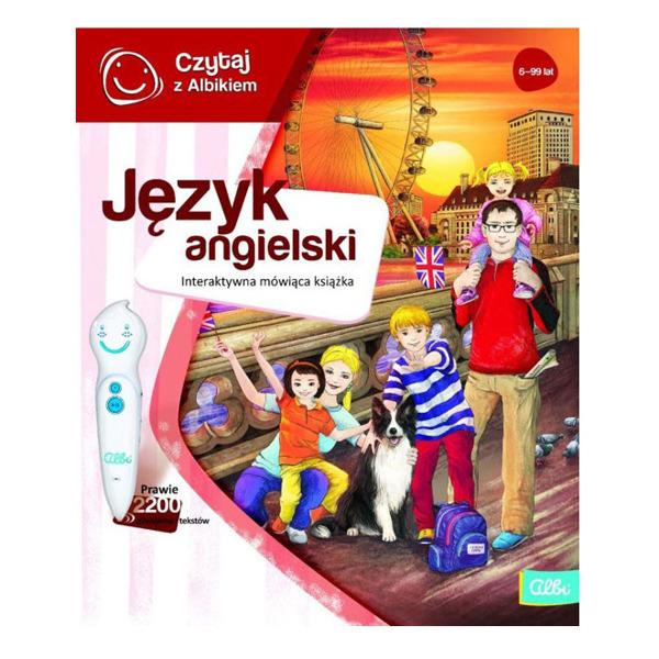 Czytaj z Albikiem: Język angielski - książka