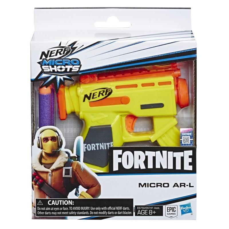 Pistolet Nerf Microshots. Fortnite AR-L