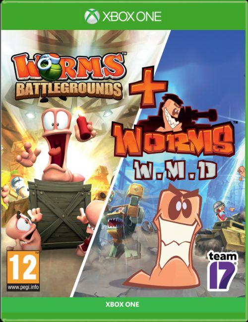 Zestaw Worms Battlegrounds + Worms W.M.D (XOne)