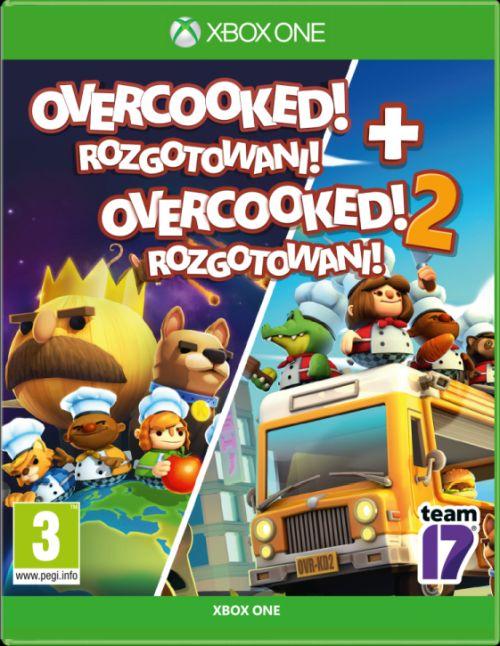 Zestaw Overcooked! Rozgotowani + Overcooked! 2: Rozgotowani (XOne)