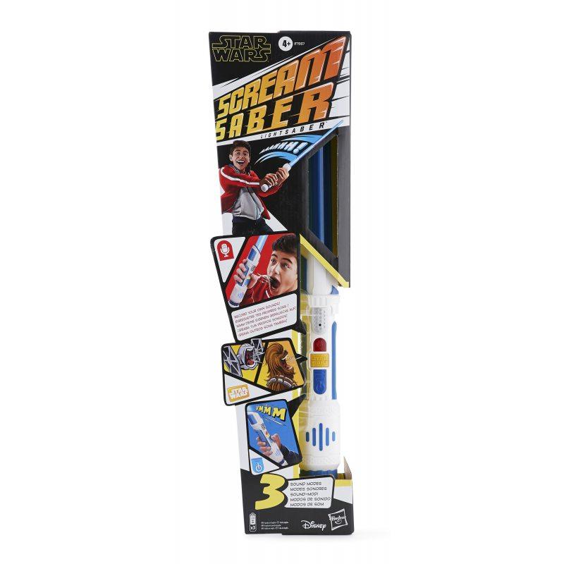 Hasbro Star Wars - Elektroniczny miecz świetlny Scream Saber