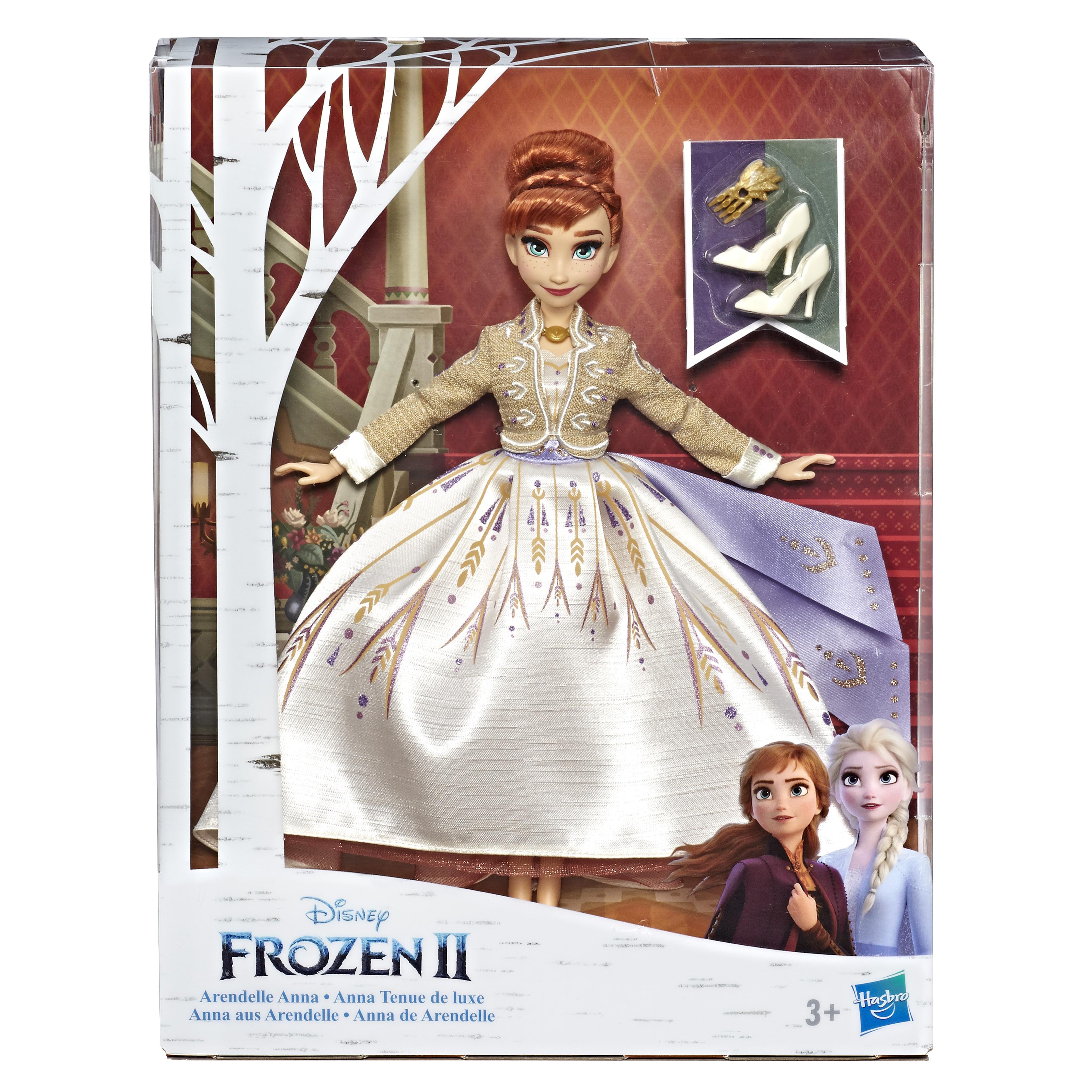 Kraina Lodu II - Lalka w suknie deluxe Anna