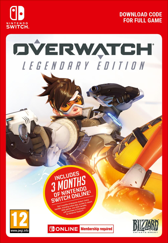Overwatch Legendary Edition + 3 miesiące Nintendo Switch Online (Switch) DIGITAL