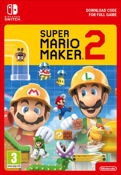 Super Mario Maker 2 + 12 miesięcy Nintendo Switch Online (Switch) DIGITAL