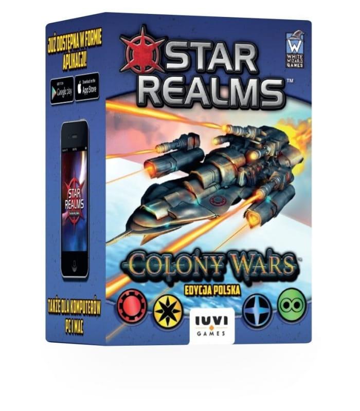 Star Realms: Colony Wars (polska edycja) (gra planszowa)