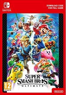 Super Smash Bros Ultimate + Online 12-month Individual Membership (Switch) DIGITAL