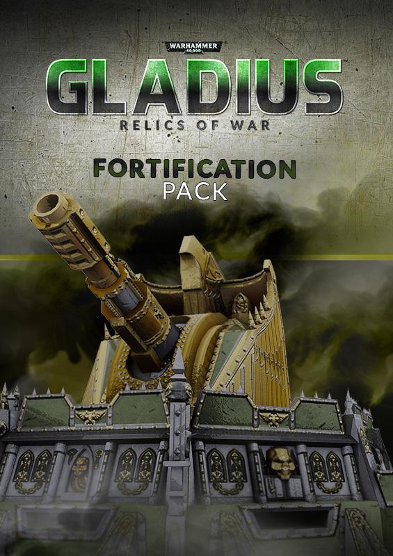 Warhammer 40,000: Gladius - Fortification Pack (PC) Klucz Steam