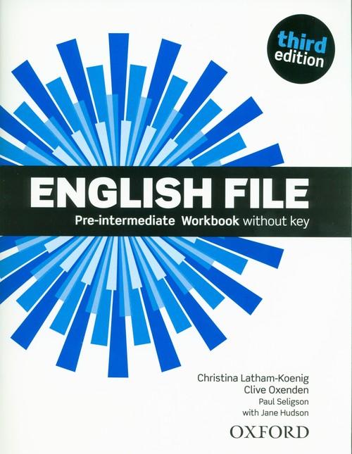 English File 3E Pre-Intermediate Workbook